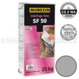 MUREXIN Spárovací malta kamenná Trass SF 50 šedá  25 kg