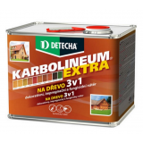 Detecha Karbolineum Extra 3,5 kg jantar-impregnačný lazúrovací náter na drevo