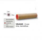 VELOUR - 5 mm vlna, termofúze, 18cm/40mm