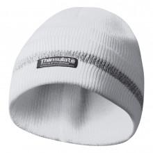 GEBOL 700004 čepice s reflexní proužky bílá Thinsulate vložka