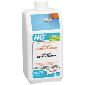 HG vyživující čistič s leskem pro podlahy z umělých materiálů (čistič s leskem) (HG výrobek 78)