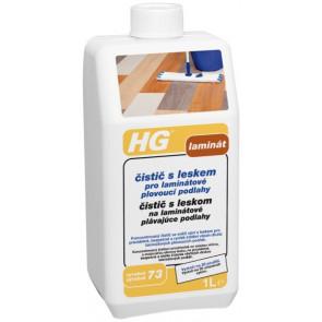 HG čistič s leskem pro laminátové plovoucí podlahy (HG výrobek 73)