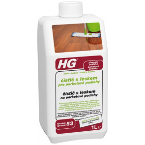 HG čistič s leskem pro parketové podlahy (čistič s leskem) (HG výrobek 53)