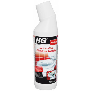 HG extra silný čistič na toalety