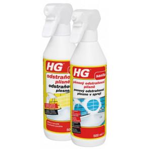 HG pěnový odstraňovač plísně