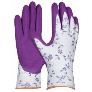 GEBOL 709801 pracovní rukavice vel.8/L Flower Garten SB