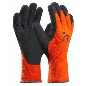 GEBOL 709281 pracovní rukavice oranžové vel.8 Winter Grip