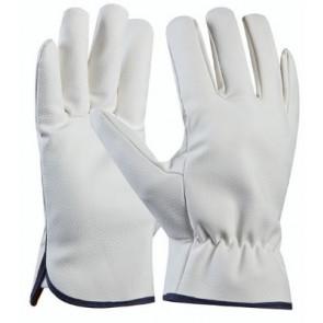 GEBOL 709218 pracovní rukavice Driver vel.9 PU-syntetická kůže SB