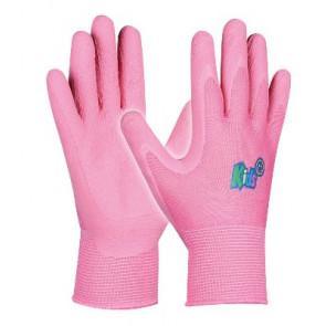 GEBOL 709704 dětské pracovní rukavice Kids 5-8 let pink, SB