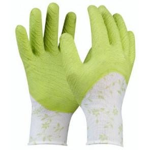 GEBOL 709803 pracovní rukavice Green vel.8 Flower Garten SB