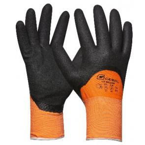 GEBOL 709582 pracovní rukavice oranžové vel.9 Winter Ice Breaker