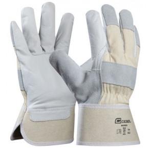 GEBOL 709207 pracovní rukavice Workm. vel 10,5 hovězí kůže