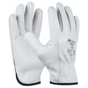 GEBOL 709215 pracovní rukavice Driver vel.10 hovězí kůže