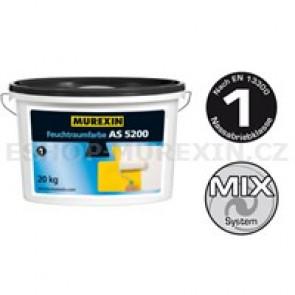 MUREXIN Nátěr do vlhkých prostorů AS 5200 bílý 20 kg