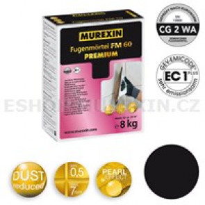 MUREXIN Spárovací malta  FM 60 Premium 8 kg černá