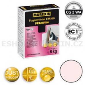 MUREXIN Spárovací malta  FM 60 Premium 8 kg whisperrosa
