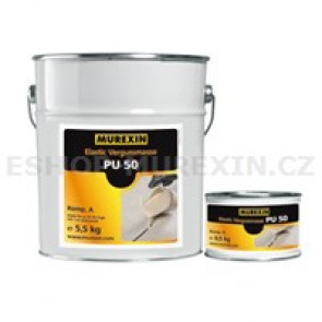 MUREXIN Spárovací hmota zálivková PU 50/A šedá5.5kg
