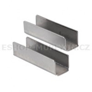 MUREXIN Profil schodový nerez  - koncový prvek MSE 12,5 nerez