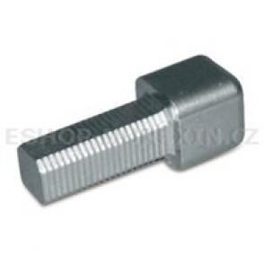 MUREXIN Profil ukončov.čtyřhranný - konc.prvek stříbrošedý 9 mm