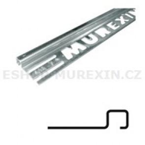 MUREXIN Profil ukončovací čtyřhranný - přírodní elox 11 mm