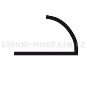 MUREXIN Profil oblý  MR 8 Al stříbrný lesklý elox