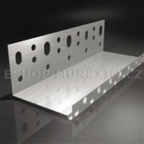 MUREXIN Zakládací profil L0 123,tl.0,5mm/2m