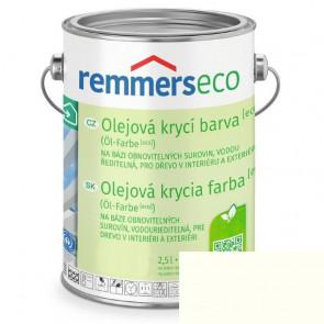 REMMERS OLEJ.KRYCÍ BARVA [ECO] BÍLÁ 2,5L