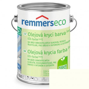 REMMERS OLEJ.KRYCÍ BARVA [ECO] BÍLÁ 5,0L