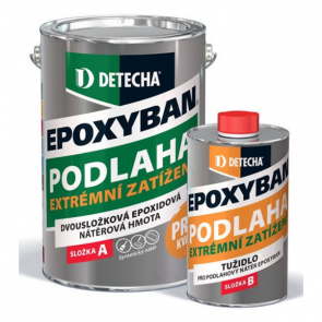 Detecha EPOXYBAN 2,5Kg tmavě šedý Ral 7011