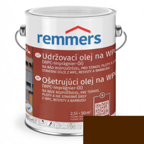 REMMERS Udržovací olej na WPC HNĚDÁ 0,75L