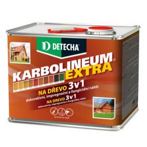 Detecha Karbolineum Extra 3,5 kg dub-impregnačný lazúrovací náter na drevo