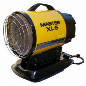 MASTER XL6 naftové infračervené topodlo