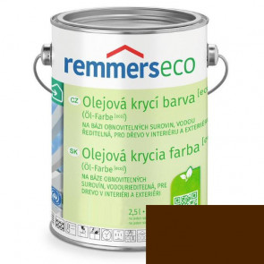 REMMERS OLEJ.KRYCÍ BARVA [ECO] OŘECH.HNĚDÁ 0,75L