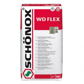 SCHÖNOX WD FLEX 5Kg šedá - Snadno použitelná vodoodpudivá flexibilní spárovací hmota