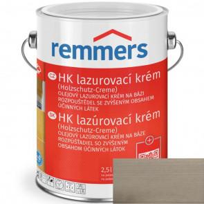 REMMERS HK lazurovací krém STŘÍBŘITĚ ŠEDÁ 0,75L