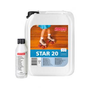 Synteko STAR 20 - dvousložkový podlahový lak na vodní bázi 5 L